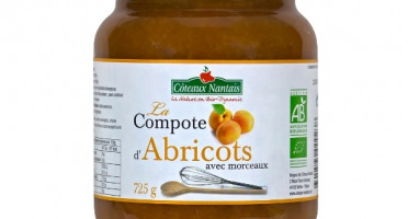 Les Côteaux Nantais - Compote Abricots 725g