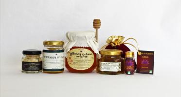Le safran - l'or rouge des Ardennes - Safran, Fleur De Sel, Moutarde, Miel, Gelée