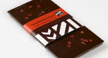 Maison Le Roux - Tablette De Chocolat Noir Baies Roses : 65% De Cacao