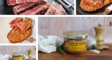 La Ferme Des Gourmets - [Précommande]  Panier Repas Semaine pour 2 personnes 100% Génisse Limousine