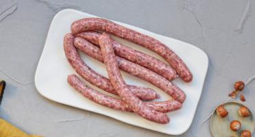 BEAUGRAIN, les viandes bien élevées - Chipolata de Porc et d'Agneau Bio par 4 Pièces