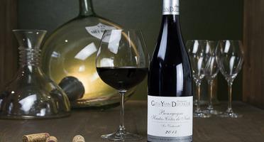 """Dyvin : domaine Guy et Yvan Dufouleur - Domaine Guy & Yvan Dufouleur - Hautes-Côtes de Nuits Rouge """"16e génération"""" - lot de 3 Bouteilles"""