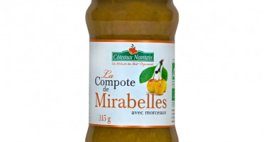 Les Côteaux Nantais - Compote Mirabelle 315g