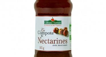 Les Côteaux Nantais - Compote Nectarines 315g