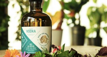 Sous les fraises - Epicerie des Toits de Paris - Vodka Aromatisée aux Plantes - 50cl