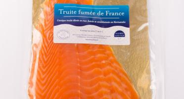 Saumon de France - Truite Fumée Élevée En Mer - 4 Tranches
