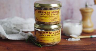 La Ferme Des Gourmets - Pack 5 Rillettes + 5 Terrines De Génisse (9 +1 Offerte)