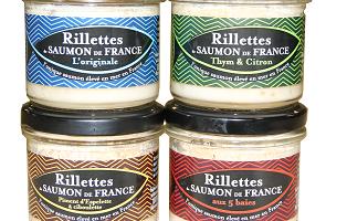 Saumon de France - Lot 4 Rillettes De Saumon De France