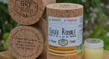 Les Butineuses de Champigny - Gelée Royale Française Bio - 10 g