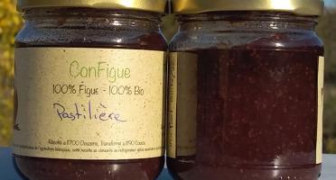 Le Ziboud'Terre - Producteur de figues - .ConFigue de Figue Pastilière BIO 200 g