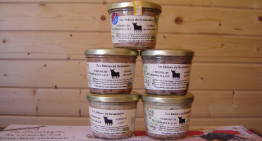 Les Délices du Scamandre - Terrine de Taureau au Piment d'Espelette - 85g