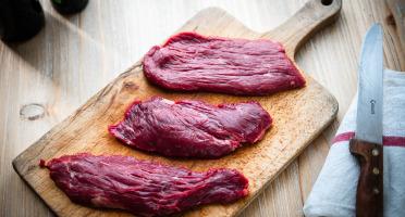 La Ferme d'Auzannes - [Précommande] Assortiment de Steaks de Boeuf 4 kg