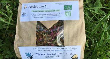 """PhytoBrenne Le Jardin des Magies - Tisane Composée """"Atchoum"""""""