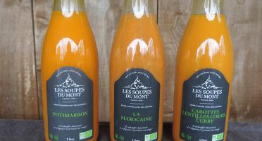 La Ferme du Polder Saint-Michel - Lot De 3 Soupes Bio Et Artisanales - 3x1l