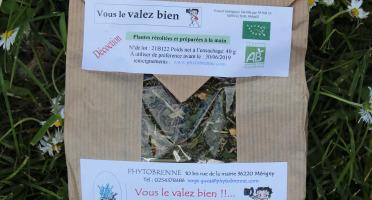 """PhytoBrenne Le Jardin des Magies - Tisane Composée """"Vous le Valez Bien"""""""