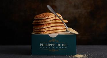 Gaufres Artisanales de Philippe de Bie - Gaufre Vergeoise - Boîte De 6
