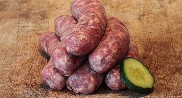 Nature viande - Domaine de la Coutancie - Saucisses forestières 500 g