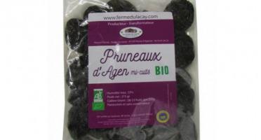Ferme du Lacay - Pruneaux d'Agen Mi-cuits Dénoyautés Bio - 375g