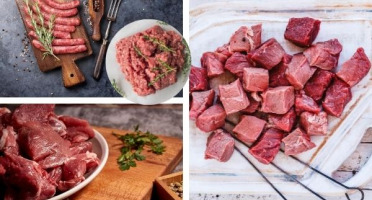 Les Délices du Scamandre - Petit Colis de Viande de Taureau de Camargue AOP Bio - 3kg