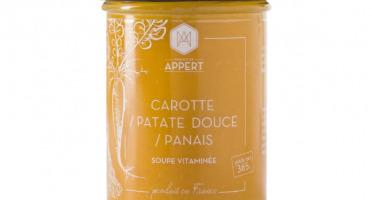 Monsieur Appert - Carottes / Patates Douce / Panais - Soupe Vitaminée