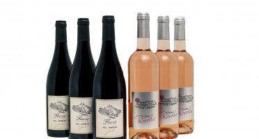 Domaine Gilbert Jambon - Coffret 3 Beaujolais Villages Rosé 2018, 3 AOC Fleurie Beaujolais 2019 (6x75cl)