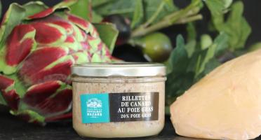 Fontalbat Mazars - rillettes de cuisses de canard au foie gras (20%)