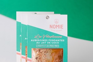 Nomie, le goût des épices - Les Voluptueuses. Mélange Pour Aubergines Fondantes Au Lait De Coco