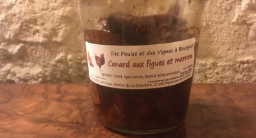Des Poules et des Vignes à Bourgueil - Canard Aux Figues Et Marrons
