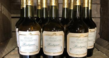 Château des Plassons - 1 Pineau Des Charentes Rastignac Jeune Blanc