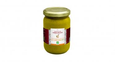 Domaine des Terres Rouges - Moutarde Douce Au Curcuma Bio 200g