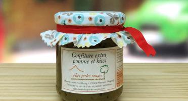 Les Perles Rouges - Confiture Extra De Pomme Kiwi