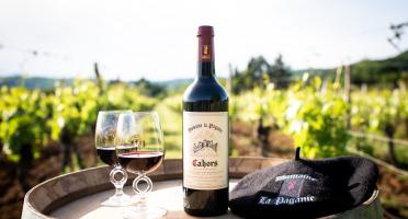 Domaine la Paganie - Vin Rouge du Domaine de la Paganie - 2017 AOC Cahors x6