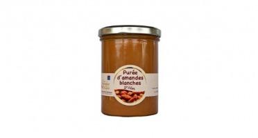 Les amandes et olives du Mont Bouquet - Purée D'amande Blanche Grillée 400g
