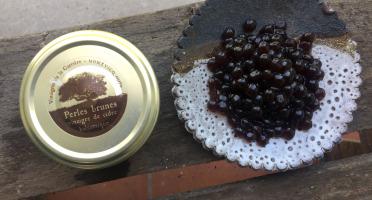Vinaigres de la Carrière - Perles Brunes - Vinaigre Balsamique de Cidre