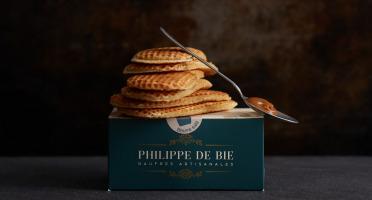Gaufres Artisanales de Philippe de Bie - Gaufre Caramel Beurre Salé - Boîte De 6