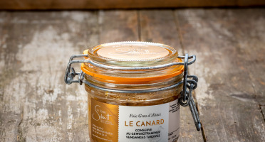 La Ferme Schmitt - Le Foie Gras de Canard d'Alsace Mi-Cuit au Gewurztraminer Vendanges Tardives, en verrine de 140 g