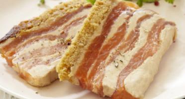 IOD - Duo saumon fumé et  foie gras