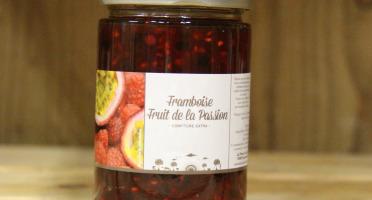 La Ferme du Logis - Confiture de Framboise Fruit de la Passion - Confiture Extra
