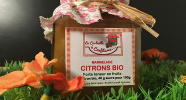 La Corbeille à Confitures - Marmelade Avec Des Citrons Bio