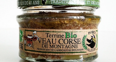 Jean-Paul Vincensini et Fils - Terrine de Porc au Veau de Montagne Bio