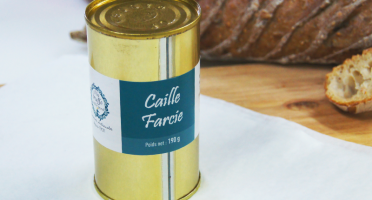 A la Truffe du Périgord - Caille Farcie
