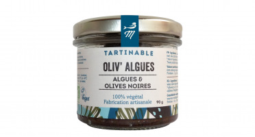 Marinoë - Tartinable Oliv'algues : Algues & Olives noires