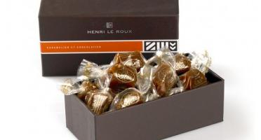 Maison Le Roux - Coffret CBS® Caramels au Beurre Salé - 1kg
