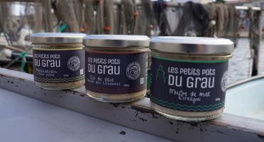 Côté Fish - Mon poisson direct pêcheurs - Assortiment 3 Petits Pots Du Grau