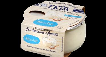 Bastidarra – Ekia - Riz au lait nature  - 8 pots