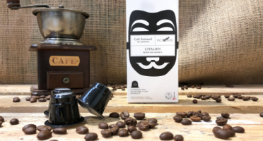 Cafés Factorerie - Capsules Blend L'Italien - 10 capsules