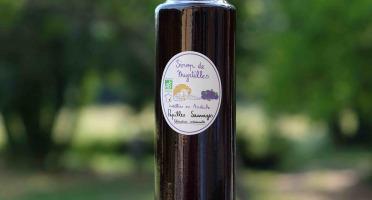 Papilles Sauvages - Sirop de Myrtilles Sauvages Bio
