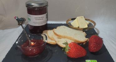La Ferme du Montet - Confiture Extra de fraises BIO - 220 g