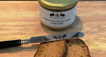 SCA des éleveurs d'Orylag - Terrine de Foie de Lapin Forestière au Sel de l'Île de Ré