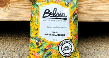 Chips BELSIA - Chips Artisanales au Curry de l'Ile de la Réunion